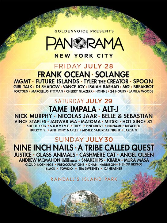 THE PANAROMA FESTIVAL 2017 LINEUP IS OUT AND TICKETS ARE ON SALE!